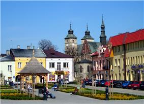 Main Square in Opatów