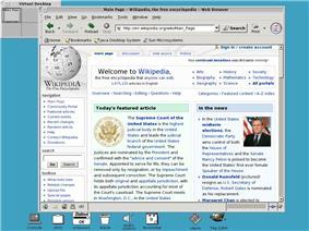 A screenshot of an OpenWindows desktop running olvwm