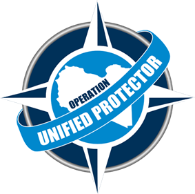 NATO Unified Proector logo