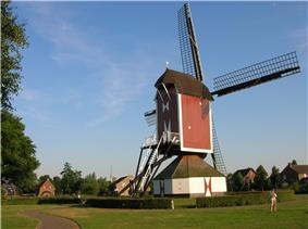 Windmill in Oploo