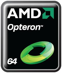 AMD Opteron logo as of 2008