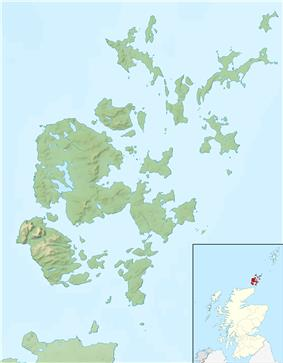 Papa Stronsay is located in Orkney Islands