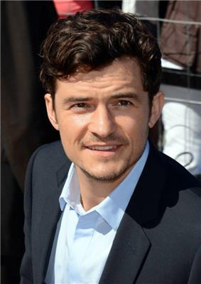 Orlando Bloom at a festival.