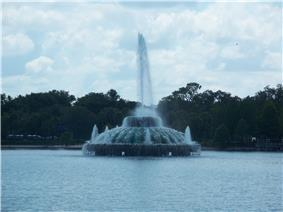 Fountain at Lake Eola