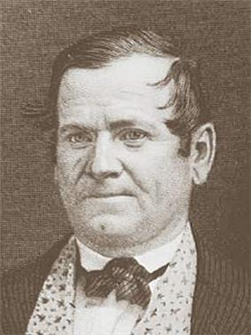 Bust photo of Orson Hyde