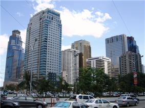 View of the Ortigas Center
