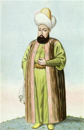 Portrait of Osman I by John Young