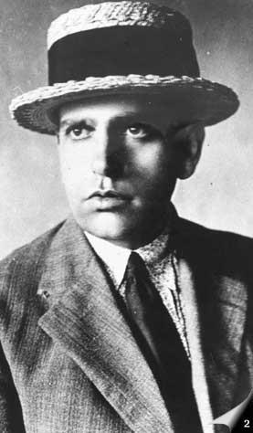 Photograph of Andrade in 1920
