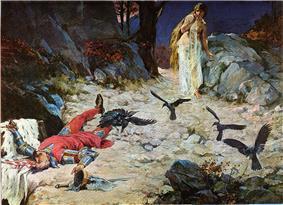 Petar Svačić's death