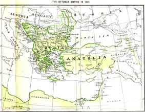 Western Borders in 1801