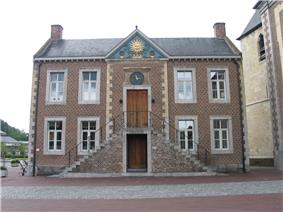 Former town hall of Zonhoven