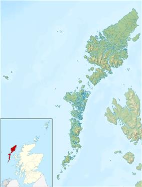St Kilda is located in Outer Hebrides