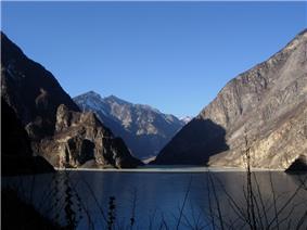 Diexi Lake, in Diexi