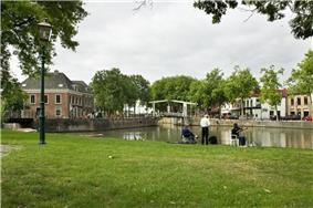 Canal through Nieuwegein