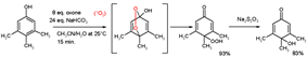 Oxone Phenol Dearomatization