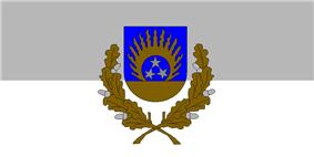 Flag of Ozolnieki Municipality