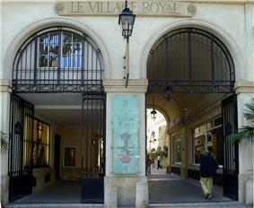 Entrée cité Berryer (ou Village Royal)