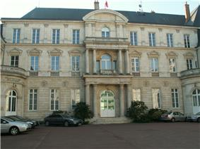 Prefecture building of the Loiret department, in Orléans