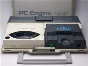 Core-Grafx with CD-ROM² and interface unit