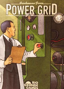 Box Cover of Power Grid by Friedemann Friese