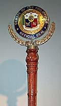 Mace of the Senate of the Philippines