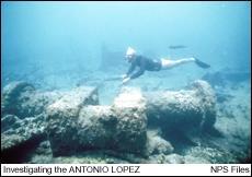 SS ANTONIO LOPEZ Shipwreck