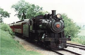 Passenger Locomotive No. 1223