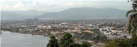 Skyline of Padang