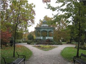 Park in the city center