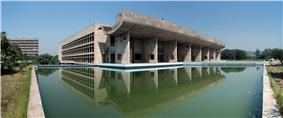 Palace of Assembly Chandigarh by Le Corbusier