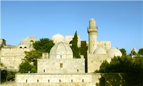 View of the Palace of the Shirvanshahs