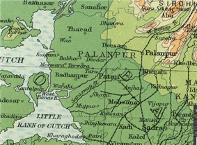 Location of Palanpur