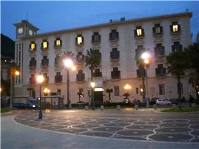 Palazzo Sant'Agostino, home to the provincial seat.