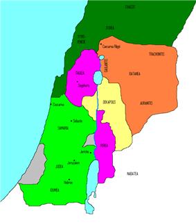 Location of Judea