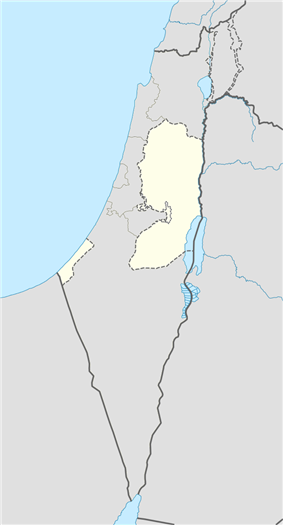Gaza is located in the Palestinian territories