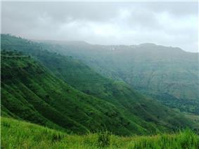 View of Panchgani Hills