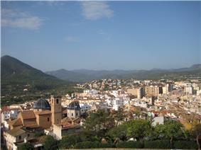Onda, panoramic view
