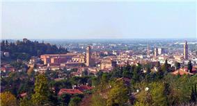 Panorama of Cesena