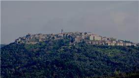 View of Civitella Marittima