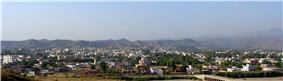 Panoramic view of Bhimber