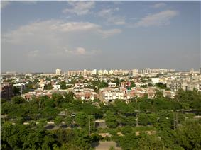 Aerial view of Greater Noida