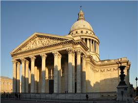 The Panthéon, in the 5th arrondissement of Paris.