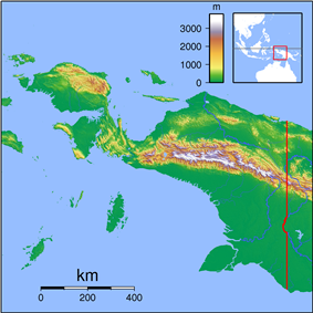 List of national parks of Indonesia is located in Papua
