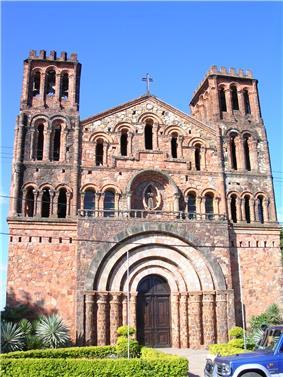 Villarrica's church