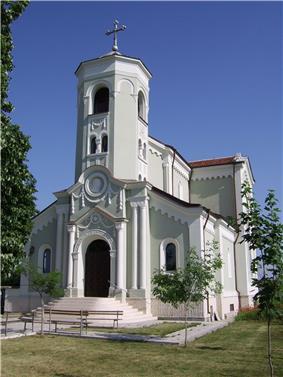 The Roman Catholic church in the Parchevich neighbourhood