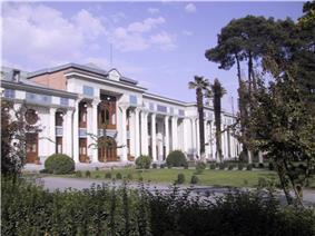 Former building of Parliament of Iran
