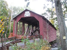 Parr's Mill Covered Bridge No. 10
