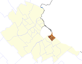 Location of Avellaneda in Gran Buenos Aires