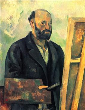 Self-Portrait with Palette, 1890