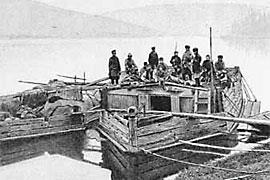 The Pauzoks at Lena river